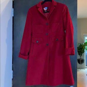BCBG MaxAzria Red Wool Jacket